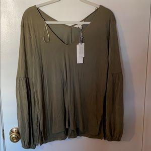 NWT, Lucky Brand Long Sleeve Shirt